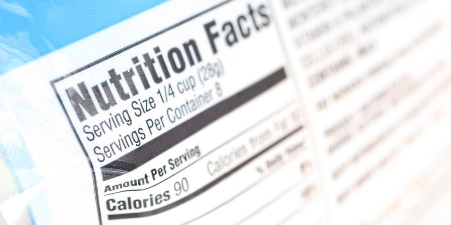 nutritional labeling testing